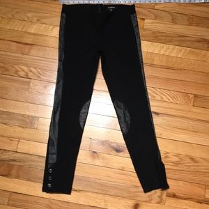 Skinny Faux leather Crop Ankle Fit Party Hot Sexy